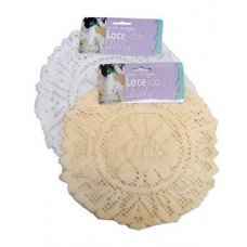 72 Units of Round lace doily (set of 3) - Placemats and Doilies