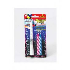 72 Units of Set of musical party candles - Birthday Candles