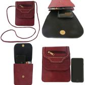 36 Units of Becca Double Pocket Cell Phone Cross Body Bag - Shoulder Bags & Messenger Bags