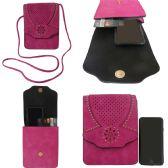 36 Units of Vertical Double Pocket Mobile Phone Cross Body Bag - Shoulder Bags & Messenger Bags