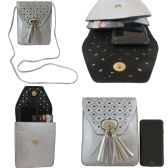 36 Units of Vertical Cross Body Bag With Two Pockets That Is Perfect For Cell Phones - Shoulder Bags & Messenger Bags