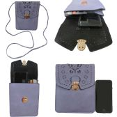36 Units of Oversized Vertical Cross Body Bag Perfect For Cell Phones - Shoulder Bags & Messenger Bags