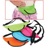 24 Units of Neon Fanny Packs