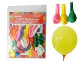 "144 Units of 24pc 9"" Balloons"