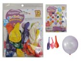 "96 Units of 12pc 12"" Happy Birthday Balloons - Balloons/Balloon Holder"