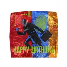 144 Units of mylar balloon 19x19 in.