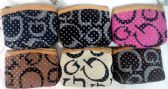 12 Units of Coin Purse w/ zipper G style with White spot