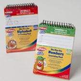 96 Units of 2 Assorted Playskool Dry Erase Spiral Learning Board