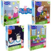 36 Units of NICKELODEON'S PEPPA PIG JIGSAW PUZZLES