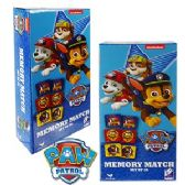48 Units of PAW PATROL MEMORY MATCH GAMES - Dominoes & Chess