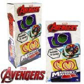 48 Units of MARVEL AVENGERS MEMORY MATCH GAMES - Dominoes & Chess