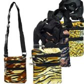 120 Units of ANIMAL PRINT MESSENGER BAGS. - Shoulder Bags & Messenger Bags