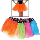 72 Units of ADULT SIZE NEON TUTUS