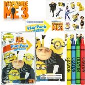 72 Units of DESPICIABLE ME 3 PLAY PACKS - GRAB & GO. - Coloring Books