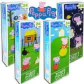 72 Units of PEPPA PIG TOWER JIGSAW PUZZLES.