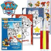 72 Units of NICKELODEON'S PAW PATROL POP-OUTZ GRAB BAGS. - Coloring Books