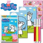 72 Units of NICKELODEON'S PEPPA PIG POP-OUTZ GRAB BAGS - Coloring Books