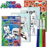 72 Units of DISNEY'S PJ MASKS POP-OUTZ GRAB BAGS. - Coloring Books