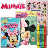 72 Units of DISNEY'S MINNIE MOUSE PLAY PACKS - GRAB & GO. - Coloring Books
