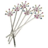 576 Units of PRINCESS STARBURST GEM WANDS. - Costume Accessories