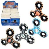 72 Units of HIGH QUALITY SPORTS BALL HAND SPINNERS - Fidget Spinners
