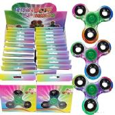 72 Units of HIGH QUALITY RAINBOW HAND SPINNERS - Fidget Spinners
