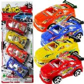 48 Units of 4 PIECE KING PULL BACK CAR SETS.