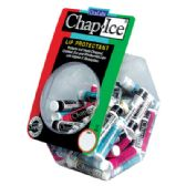 115 Units of Chap Ice Assorted Counter Display - Cosmetics