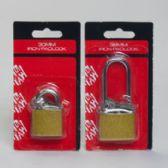 72 Units of 2asst Brass Iron Padlocks W/ 2 Keys