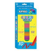 96 Units of 8 Count jumbo colored chalks