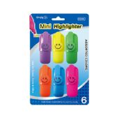 96 Units of 6 Piece mini high lighter