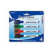 96 Units of 4 Piece dry erase color marker