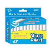 96 Units of 48 Count white chalks - Chalk,Chalkboards,Crayons