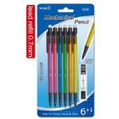 96 Units of Mechanical pencil 0.7mm/6 Count