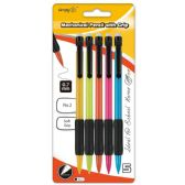 96 Units of Mechanical pencil 0.7mm/4 Count w/cusion