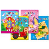 96 Units of coloring book assorted