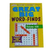 80 Units of Great big word find - Crosswords, Dictionaries, Puzzle books