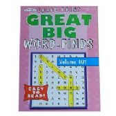 80 Units of Great big crossword find - Crosswords, Dictionaries, Puzzle books
