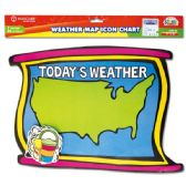 96 Units of Weather map chart