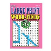 160 Units of Large print word find - Crosswords, Dictionaries, Puzzle books