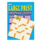 160 Units of Large print crossword - Crosswords, Dictionaries, Puzzle books