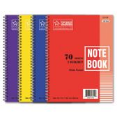 96 Units of 1-subject/70 count notebook