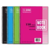 72 Units of 5-subject/150 count notebook