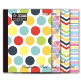 96 Units of 80 count Full art notebook