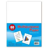 96 Units of 80 count multi purpose paper - PAPER