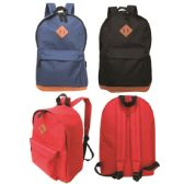 24 Units of Backpack assorted colors - Backpacks 17""