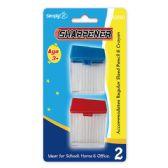 96 Units of 2 Piece sharpener - Sharpeners