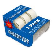 96 Units of 3 piece tape