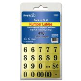 96 Units of 410 Count number labels - Labels ,Cards and Index Cards