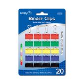96 Units of Colored binder clips